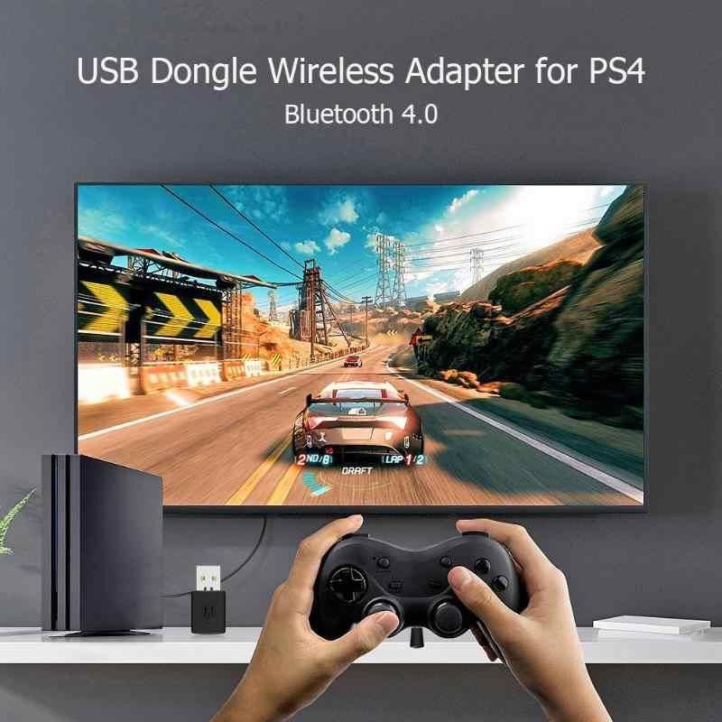 3.5mm Bluetooth Dongle USB 4.0 adaptör alıcı PS4 Playstation 4 denetleyici Gamepad konsolu oyun aksesuarları