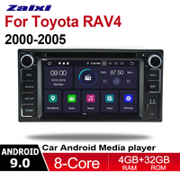 ZaiXi 4GB android 9.0 car dvd player for Toyota RAV4 2000~2005 Multimedia GPS Navigation Map Autoradio WiFI Bluetooth HD Screen