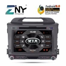 """Android 8,0 автомобильный Радио dvd-плеер 2 Din для Kia Sportage 2009-2015 8 """"ips Мультимедиа gps Навигация стерео 4 + 32 ГБ Подарочная камера"""