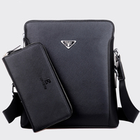 JACKKEVIN Men S Bag 2016 Fashion Men S Shoulder Bag High Quality Casual Leisure Package Material