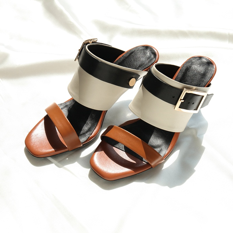 plus size 41 new fashion sandals summer shoes women high heels party dress shoes leather slippers sexy peep toe platform sandals high heel sandals women high heels slippers peep toe pumps summer shoes woman sandals plus size 34 40 41 42 43 44 45 46 47 48