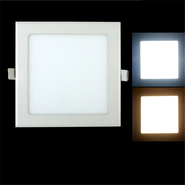 25 Watt Square LED Ceiling Light Recessed Kitchen Bathroom