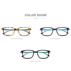 Image 5 - FONEX lunettes optiques en acétate pour hommes, monture de Prescription carrée, 2019, verres de Commerce, verres pour myopie, sans vis