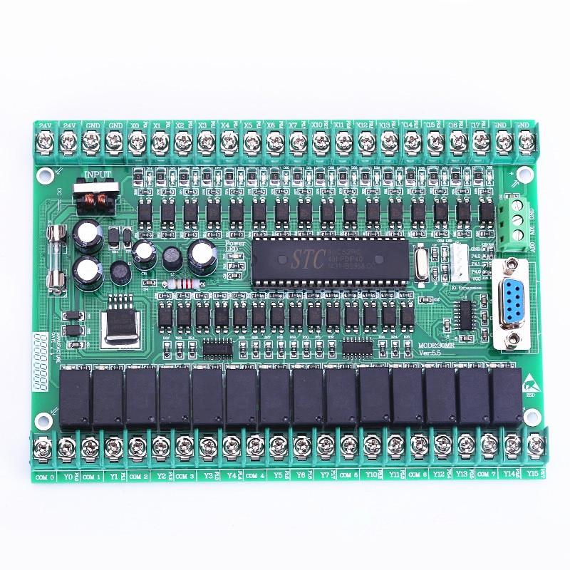 FX-30MR FX-30MT PLC industrial control panel programmable logic controller 51 micro controller pr e 16dc da r expansion module programmable logic controller smart relay micro plc controller ce rohs