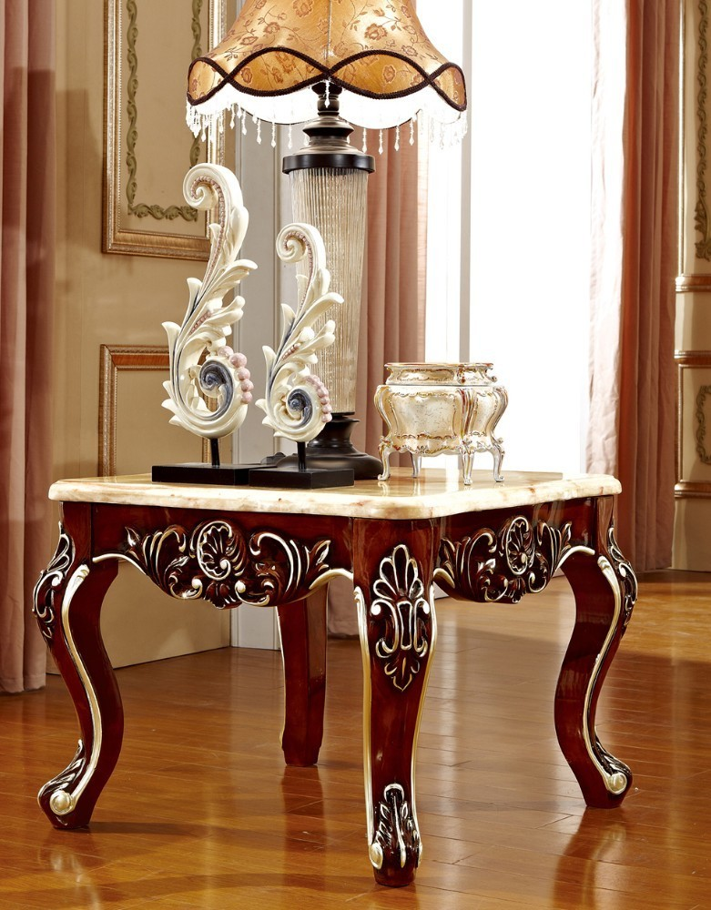 цены на Antique solid wood sofa side table for luxury European style furniture set from Brand ProCARE в интернет-магазинах