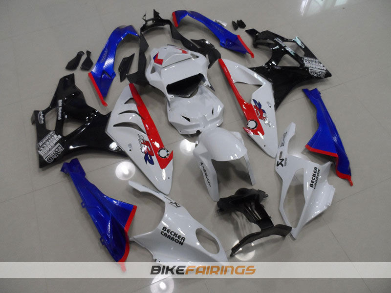 New ABS Fairings Fit For BMW S1000RR 09-14 1000RR 2009 - 2014 Injection Motorcycle Fairing Kit Bodywork set Nice red blue image