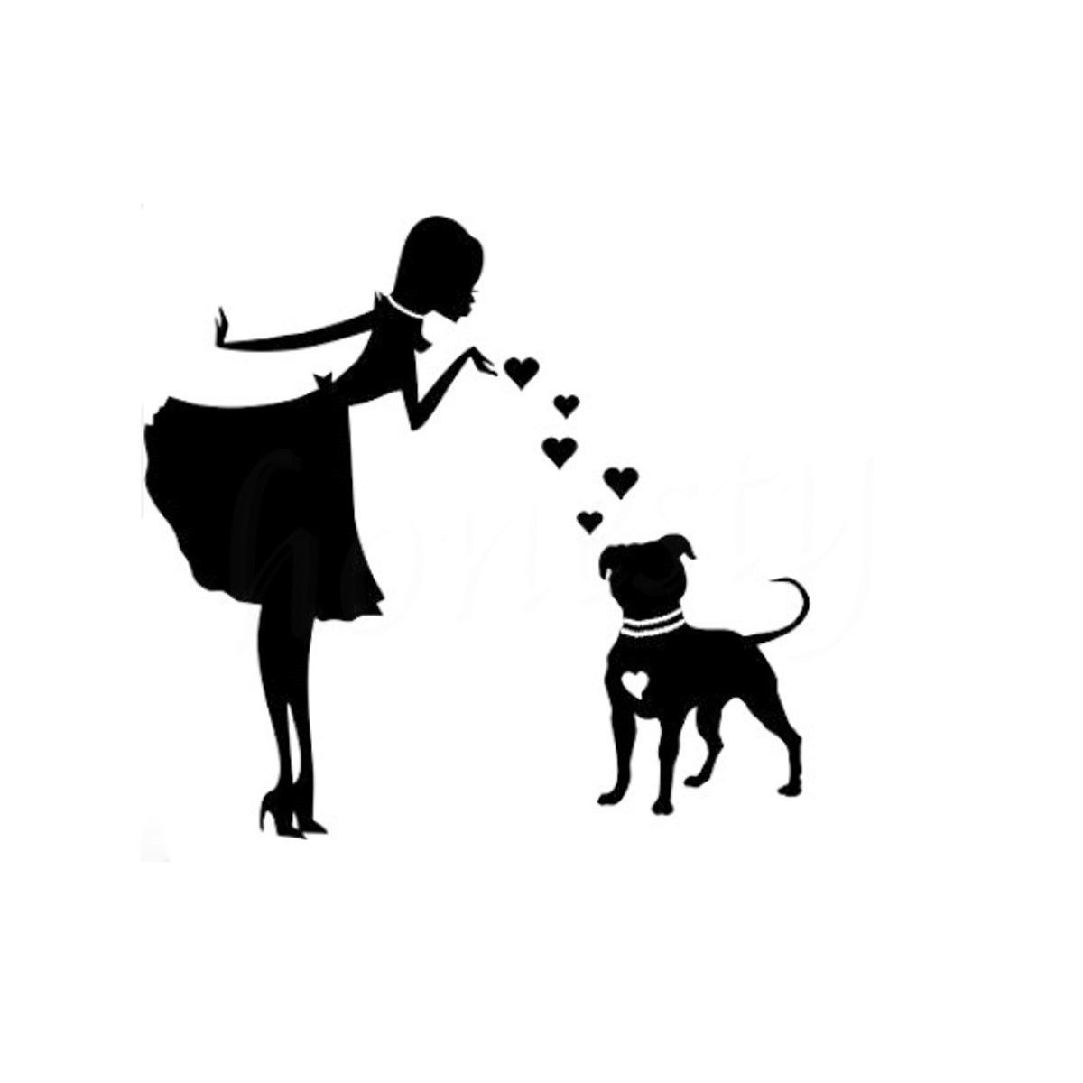 Funny PITS and PEARLS PITBULL Dog Car Motorcycle Window Sticker Wall Home Glass Window Door Black Vinyl Decal 12.3cmX11.5cm veterinary and human 2 14g dl 1 000 1 060 ri dog 1 000 1 060 ri cat clinical dog and cats refractometer rhc 300atc