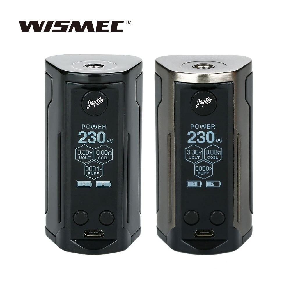 WISMEC Reuleaux RX GEN3 Dual 230 W TC Box MOD no 18650 batterie avec 1.3 pouces grand écran pour Gnome King Tank Box Mod Vs RX200S