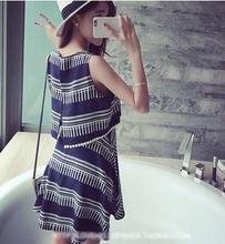 2016 Summer New Maternity Women Lactating clothes Large size Breastfeeding Dress SH 0234
