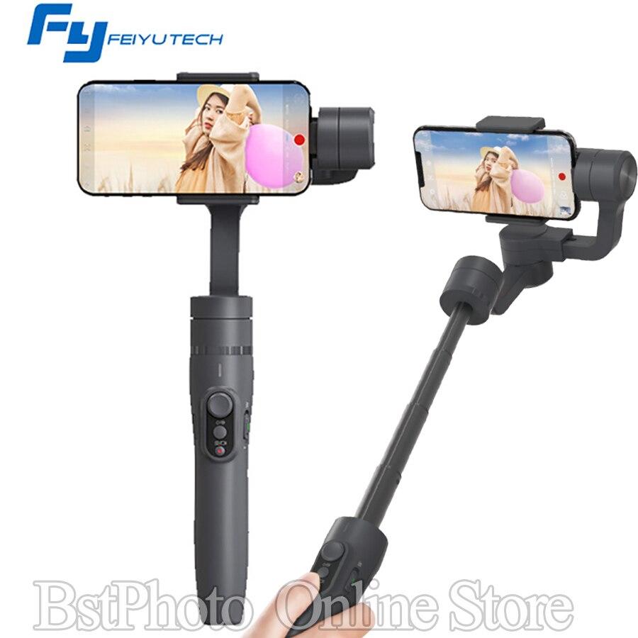 Feiyutech Feiyu vimble 2 ручки Gimbal стабилизатор 3 оси удлиненным стержнем Steadicam для экшн-камеры смартфона VS Zhiyun гладкой q