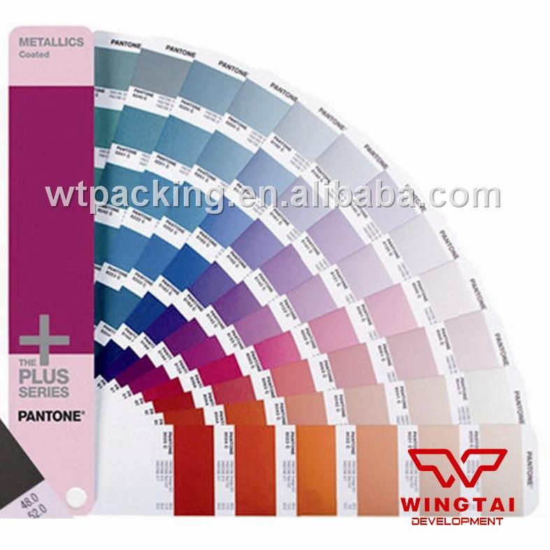 Пантон металлический Формулы покрытием pantone бумаги GG1507 Цвет книга
