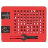 Mini Writing Memo Board MagneticTablet Magnet Pad Drawing Board Bead Magnet Stylus Pen Kids Intelligence Learn