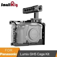 SmallRig для Panasonic Lumix GH5/GH5S клетка с верхней ручкой рукоятки комплект 2050