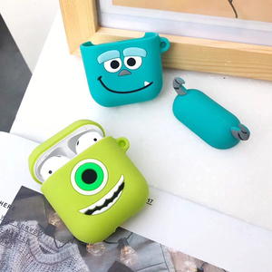 Image 3 - 3D Cartoon Wireless Bluetooth Earphone Case For Apple AirPods Silicone Charging Headphones Cases For Airpods Protective Cover