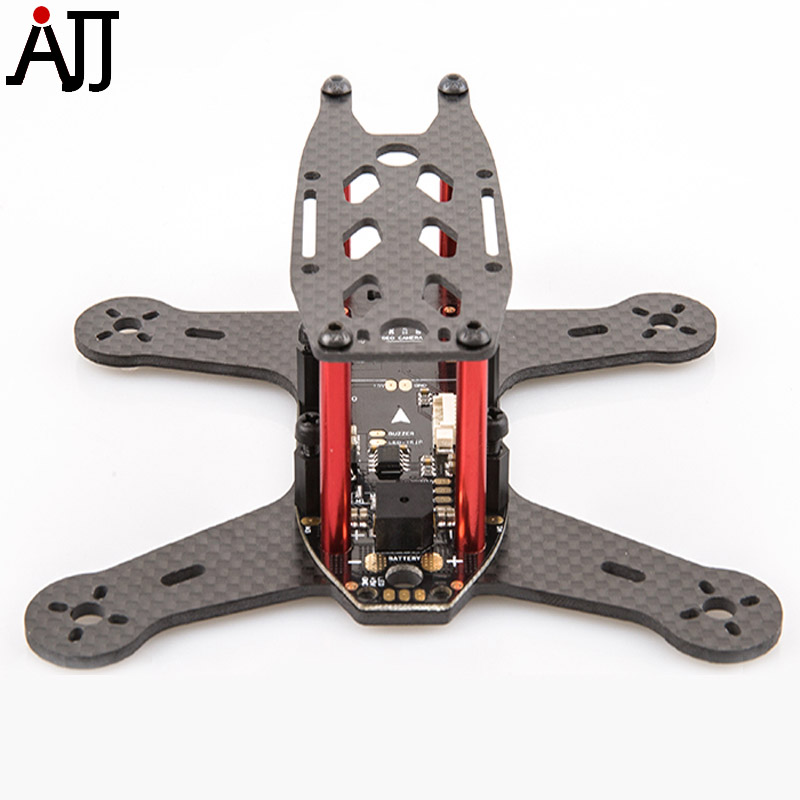 BeeRotor Ultra 130 Carbon Fiber Frame Mini FPV Racing Quadcopter Frame with PDB Board U130 drone with camera rc plane qav 250 carbon frame f3 flight controller emax rs2205 2300kv motor fiber mini quadcopter