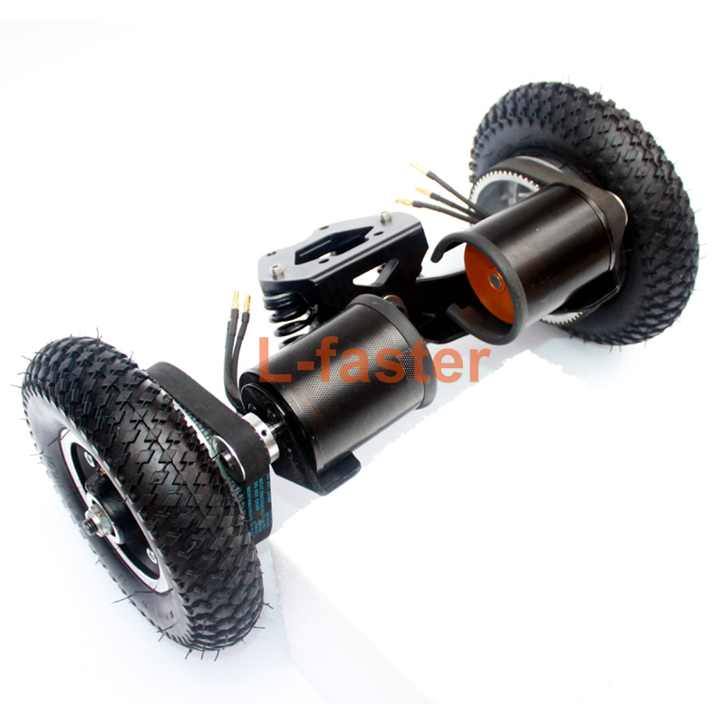 4 Wheels Off Road Skateboard 11 Inch Truck With 8 Inflation Tyre Motorized Gas Longboard Truck