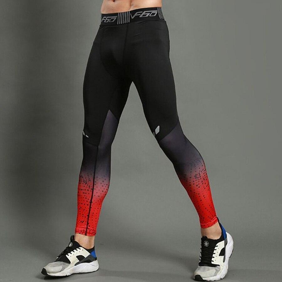 Enge Hosen Männer Sport Uniformen Basketball Leggings Laufgeschwindigkeit Trocken Atmungsaktive Elastische Hose Laufstrumpfhosen