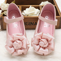 2017 Spring Children genuine leather shoes princess girls flower shoes dance shoes for girls sneakers dress shoes