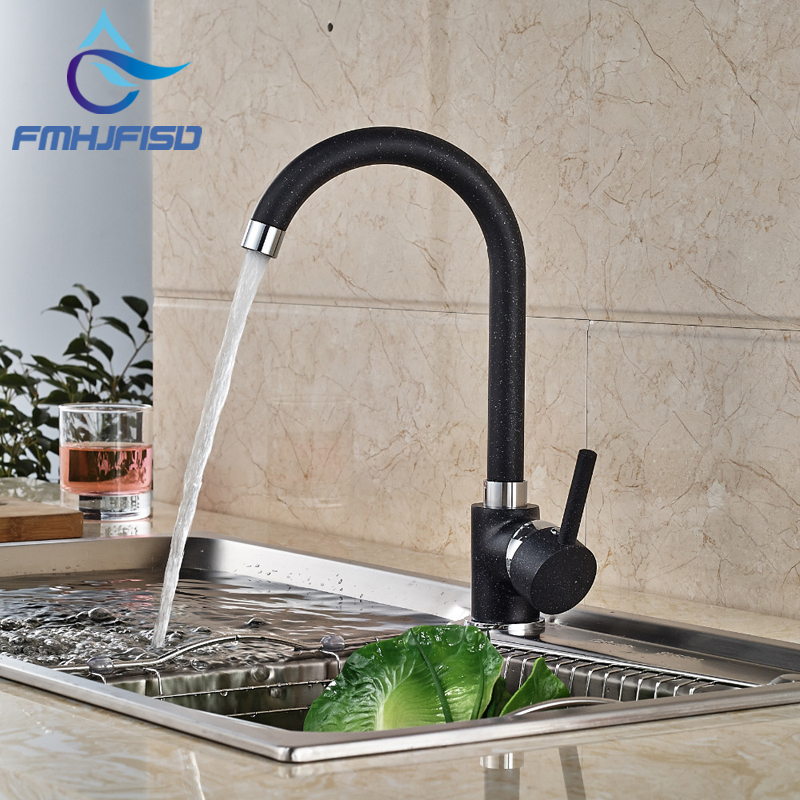 Cheap Price Solid Brass Kitchen Faucet Black Body Single Handle Hole Vessel Vanity Sink Mixer Tap ручка для тяги на трицепс v образная серьга body solid mb507rg