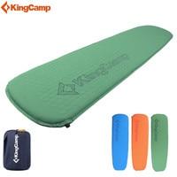 KingCamp Deluxe Camping Pad Ultralight Sleeping Pad Compatible Self Inflating Camping Mats For Backpacking Hiking Trekking