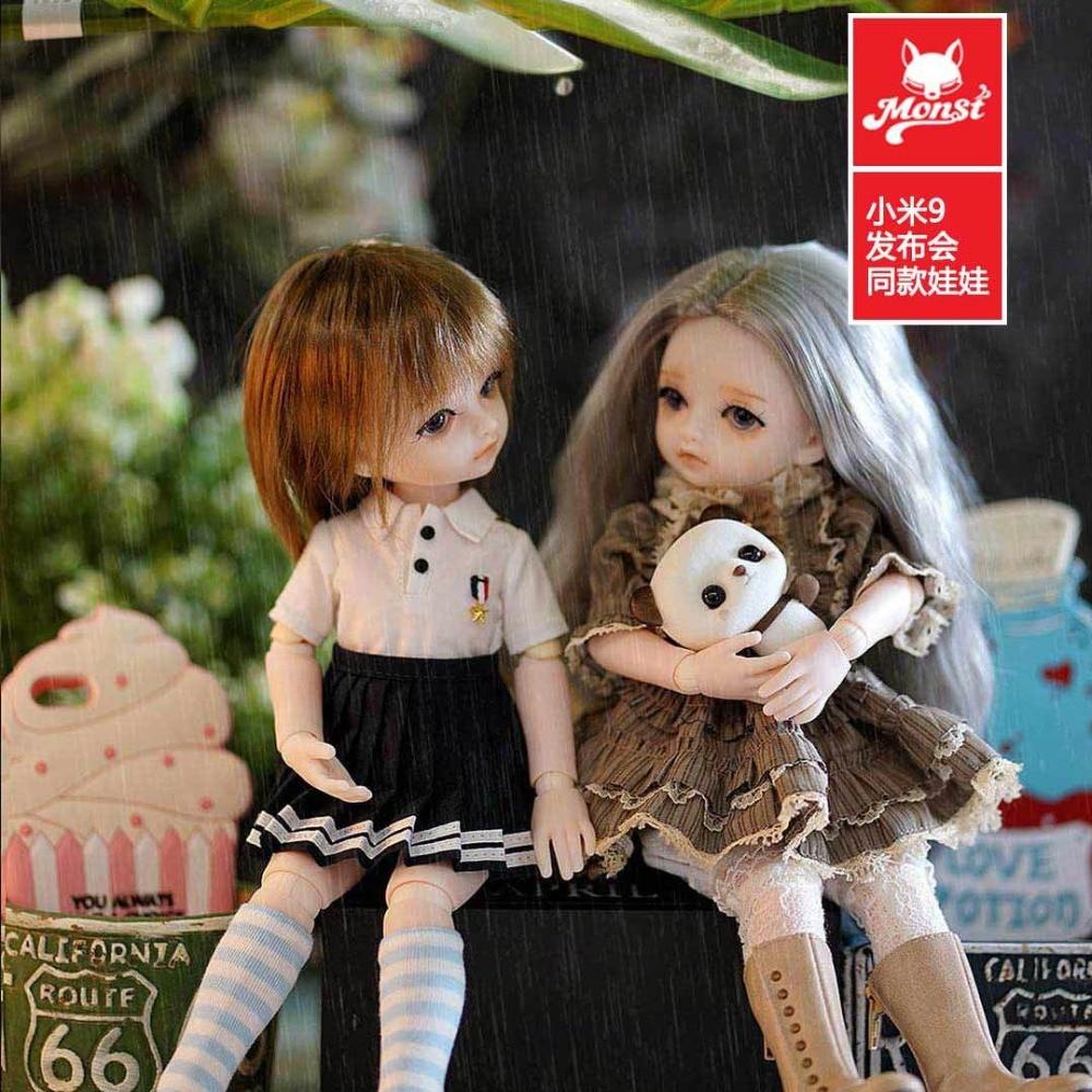 Original xiaomi mijia Monst BJD Joints poupée vacances cadeau stagiaire Lolita filles poupées réalistes Figure cadeau décor Collection - 4