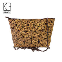 KAOGE Vegan Natural cork bag women Handmade female luxury handbags women bags designer crossbody bags for women bao rustic natural cork wallet for men cork vegan handmade casual wooden eco wallet from portugal bag 200