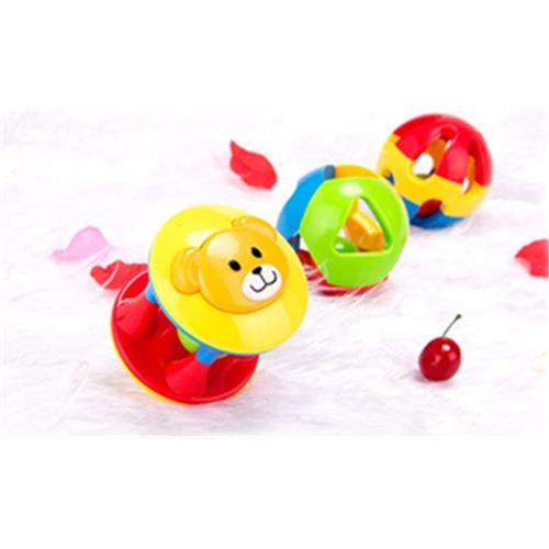 2016 Rabbed Baby Toy 3pcs Lovely Colorful Bell Ball Білімі - Балаларға арналған ойыншықтар - фото 6
