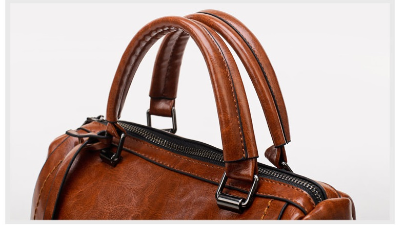 Nova chegada sacos de couro genuíno das