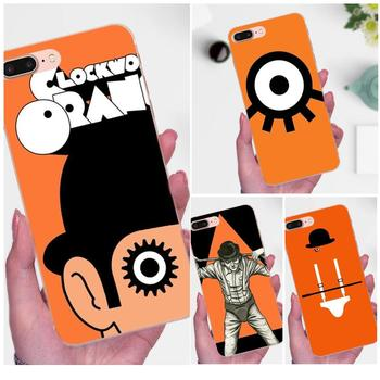 A Clockwork Orange For Apple iPhone 4 4S 5 5C 5S SE 6 6S 7 8 Plus X XS Max XR Soft TPU Coque Case Capa