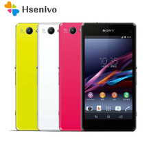 100% Original Sony Xperia Z1 Compact D5503 Unlocked 3G/4G Android Quad-Core 2GB RAM 4.3 20.7MP WIFI GPS 16GB Mobile phone(China)