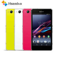 100% Original Sony Xperia Z1 Compact D5503 Unlocked 3G/4G Android Quad-Core 2GB RAM 4.3 20.7MP WIFI GPS 16GB Mobile phone