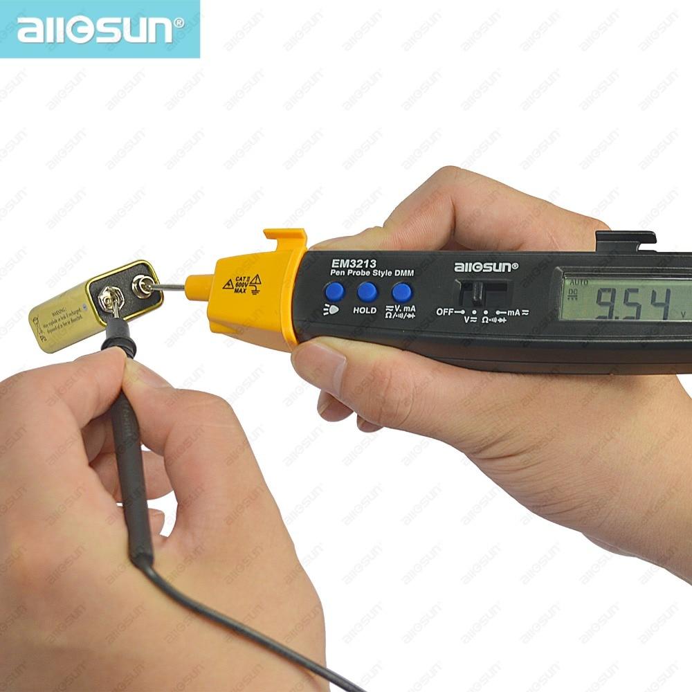 AutoRange Pen stílusú digitális multiméter DMM AC DC Volt Amp Ohm - Mérőműszerek - Fénykép 3