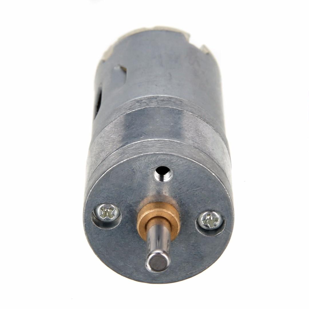 цена на 1PC 12V DC 1000RPM High Torque Mini Electric Geared Box Metal Alloy Motor Good Wear Resistance Torque Gear Box Motor Mayitr