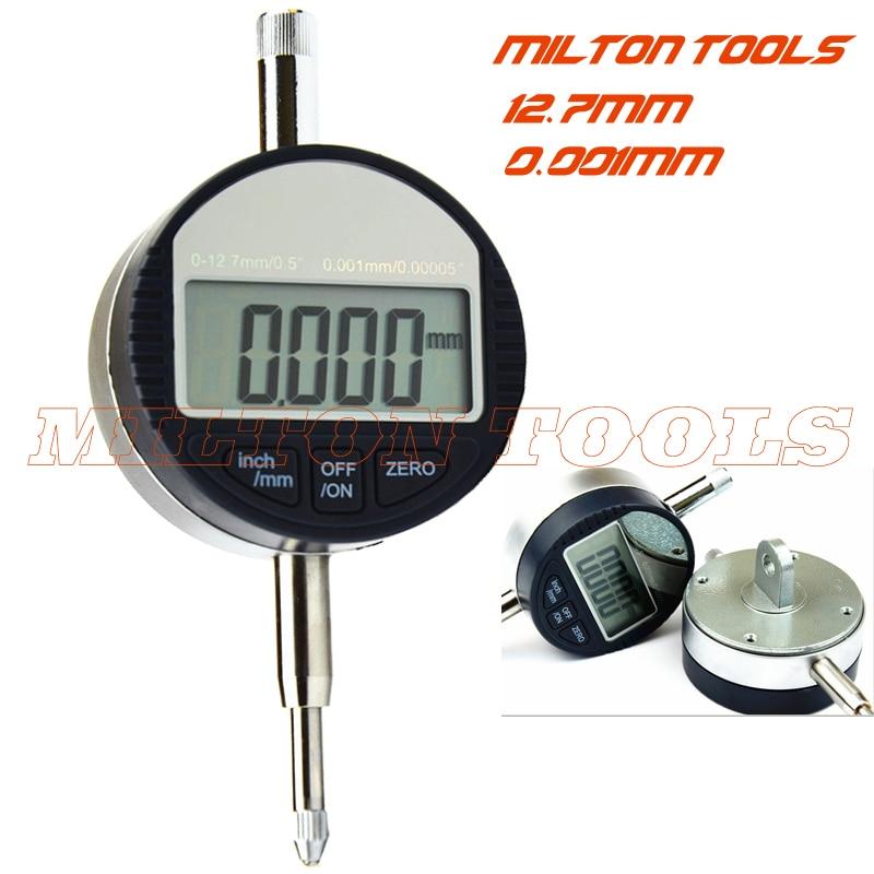 Микронный цифровой индикатор 0-12,7*0,001 мм