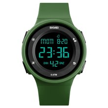 SKMEI Wrist Watch Silicone Strap LED Digital Clock 50m Waterproof Casual Outdoor Sport Models Relogio Watches