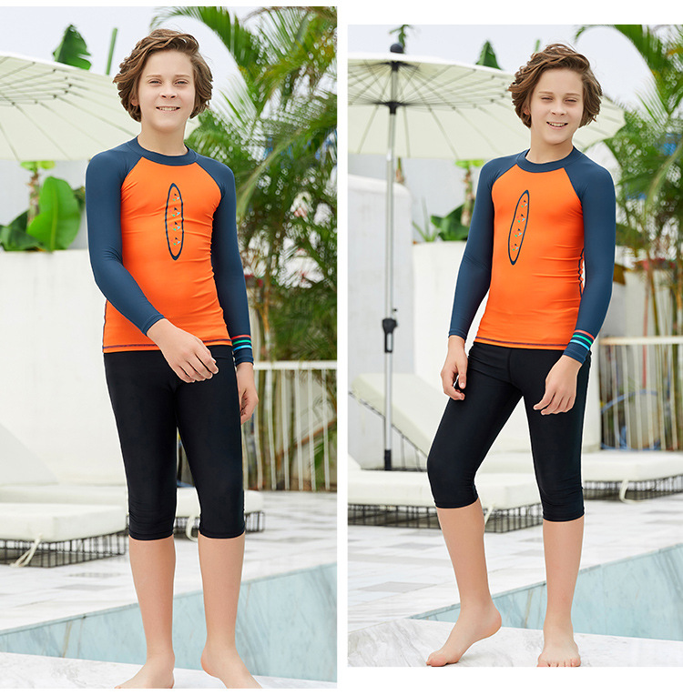 Mergulho terno das crianças terno de banho