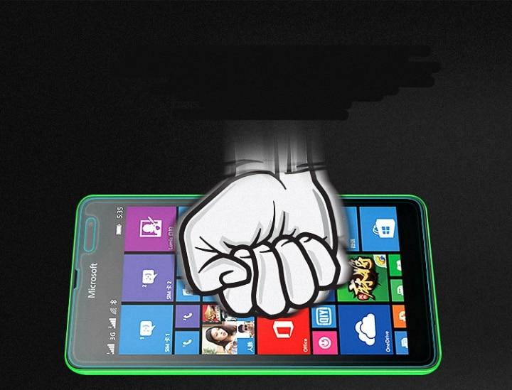 Ապակե էկրանով պաշտպանիչ BAG Nokia Lumia 520 530 - Բջջային հեռախոսի պարագաներ և պահեստամասեր - Լուսանկար 3