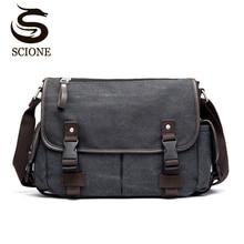 Vintage męska torba na ramię torby podróżne na ramię przyczynowa torba kurierska z płótna Patchwork wielofunkcyjna torba na laptopa School Tote