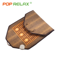 POP RELAX natural Jade stone massage mat health care far infrared physiotherapy thermal electric heating therapy stone mattress