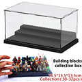 Caja de juguetes de bloques de construcción bloques de juguetes figuras colección cajas de presentación contiene 30-32 unids carácter compatible pogo xinh x0122