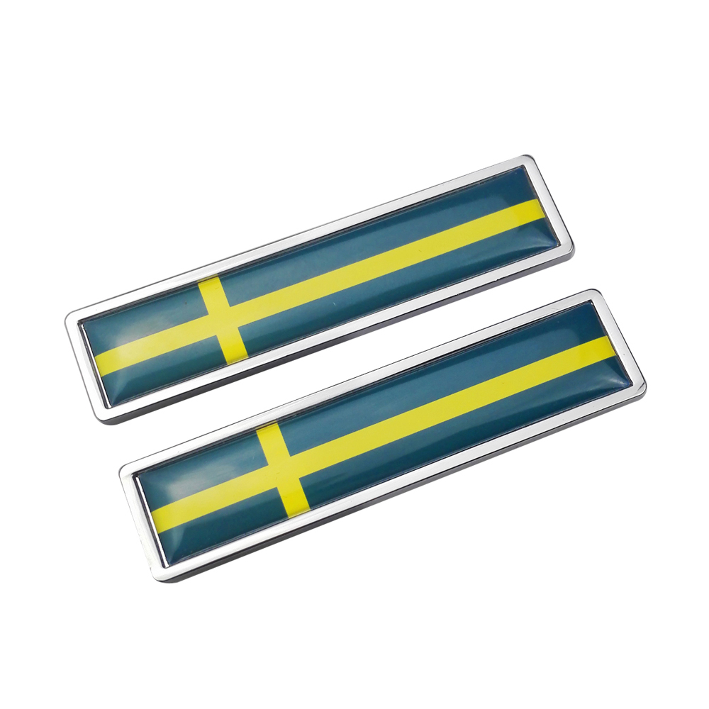 Exterior Accessories for Sweden Flag for Volvo V90 XC60