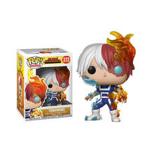 FUNKO POP Original My Hero Academia Amzing Heros & Todoroki Action Figure Collectible Model Toys for Children Birthday gift(China)