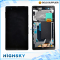 Screen For Sony Xperia Z L36h LCD C6602 C6603 Display With Touch Digitizer + Frame Assembly 1 Piece Free Shipping