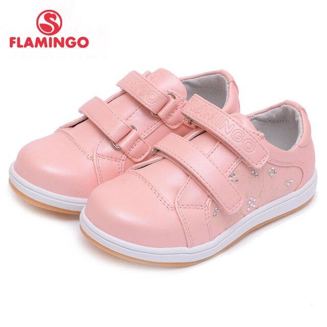 Фламинго российские известного Бренд 2016 г. Новое поступление Весенняя детская обувь Мода Высокое качество Детские кроссовки 61-CP110/CP111/CP112