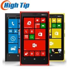 """Nokia Lumia 920 Abierto Original de Windows Mobile Teléfono Dual core 32 GB 8.7MP 3G GPS WIFI 4.5 """"Con Pantalla Táctil reformado"""