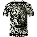 2016 New Arrivval Men Summer Brand Clothing Skull Print 3D T Shirt MenT-shirt Camiseta Dark Souls Punisher Men t-Shirts