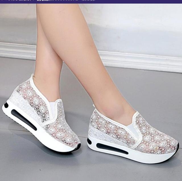 Verano mujeres zapatos Oxford plataforma mujeres pisos ahuecan hacia fuera calidad mocasines de punta redonda para las mujeres zapatos planos zapatos casual primavera