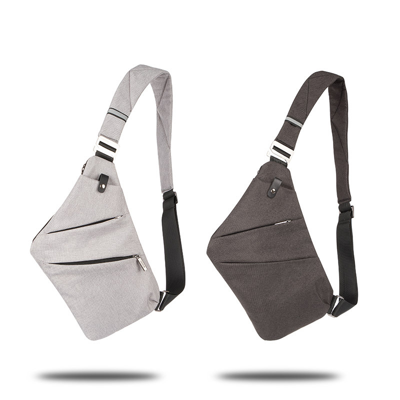 Men Nylon Shoulder Messenger Bags Travel Crossbody Chest Bag Purse Satchel Pouch