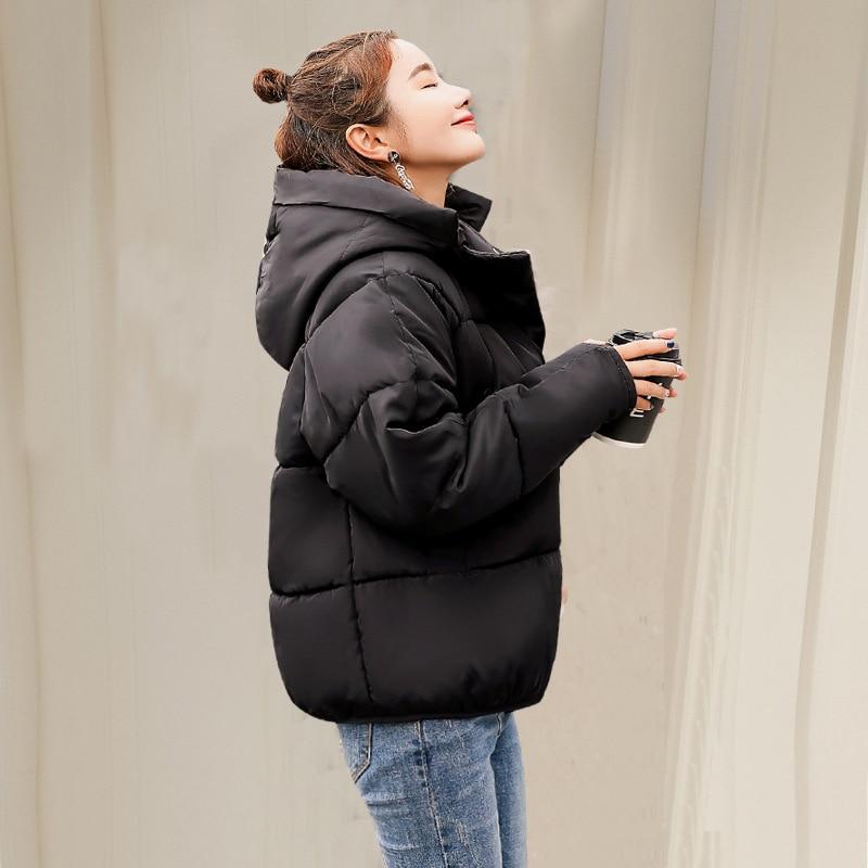 parka   women 2019 new Winter Jacket Women Coats Hooded Coats Female   Parka   Thick Cotton Padded Lining Winter Female Coats YF192