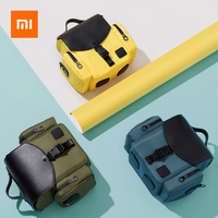 Xiaomi Camera Bag Fashion Shoulder Bag Backpack Camera Case For Canon Nikon Sony Lens Pouch Waterproof Photography Photo Bag